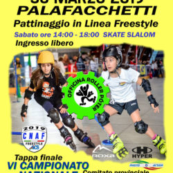 Treviglio 30-03-2019 - AICS - Pattinaggio Freestyle